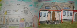 Wystawa prac - Zabytki Staszowa - Dworek Miejski