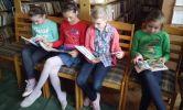 Lekcja biblioteczna w Kurozwękach - komiks
