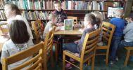 Lekcja biblioteczna w Kurozwękach - legendy