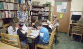 Lekcja biblioteczna w Kurozwękach 2015