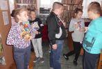 Lekcja biblioteczna w Kurozwękach (2018)