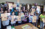 Pasowanie na czytelników Biblioteki w Kurozwękach 2015