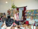 Uta Przyboś i Romuald Bielenda w Bibliotece Publicznej Miasta i Gminy w Staszowie