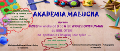 Akademia Malucha w Bibliotece Publicznej Miasta i Gminy w Staszowie
