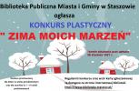 """Konkurs plastyczny """"ZIMA MOICH MARZEŃ"""" (2021)"""