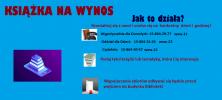 """""""KSIĄŻKA NA WYNOS"""" w Bibliotece Publicznej Miasta i Gminy w Staszowie"""